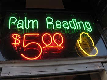 Palm reading picture