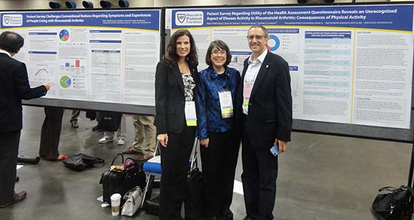 HAQ poster - RPF team members at ACR13