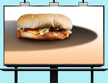 real-burger-bilboard