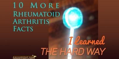 rheumatoid arthritis facts blue lollipop fb