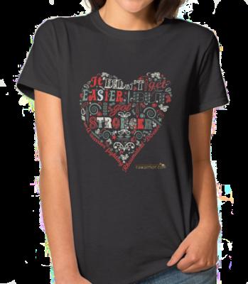 rheumatoid arthritis t-shirt: I am stronger