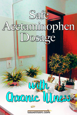 Safe Acetaminophen Dosage with Chronic Pain