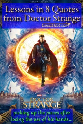 Lessons in 8 Quotes from Doctor Strange